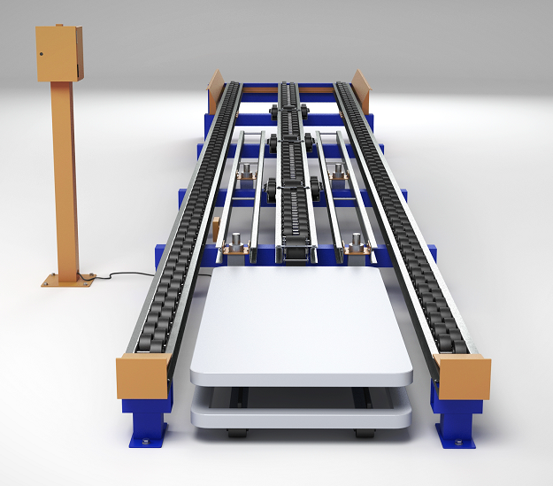 Ergo-Cell Lift Table for Case Picking -Mallard Manufacturing