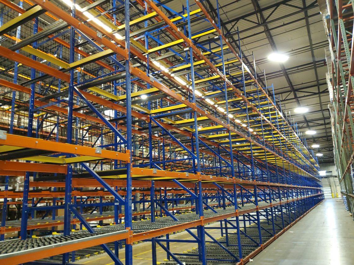 Gravity Flow Rack - Mallard Manufacturing