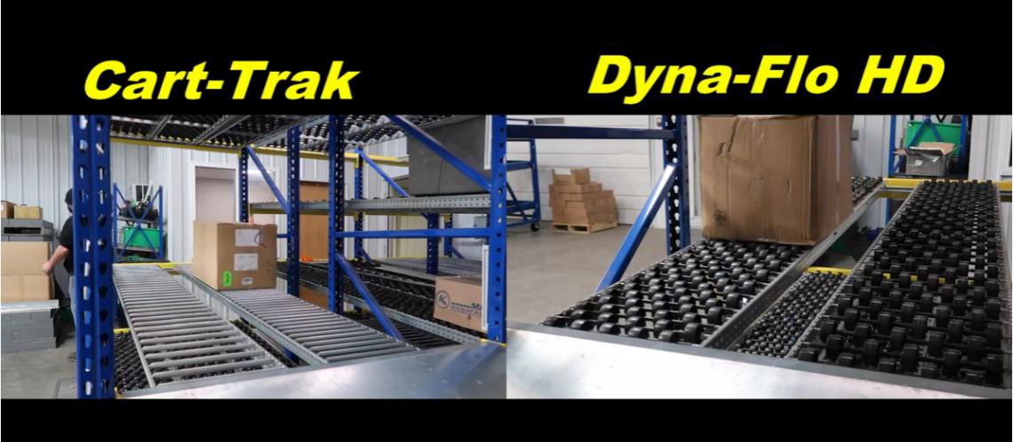 Carton Flow Rack - Mallard Manufacturing