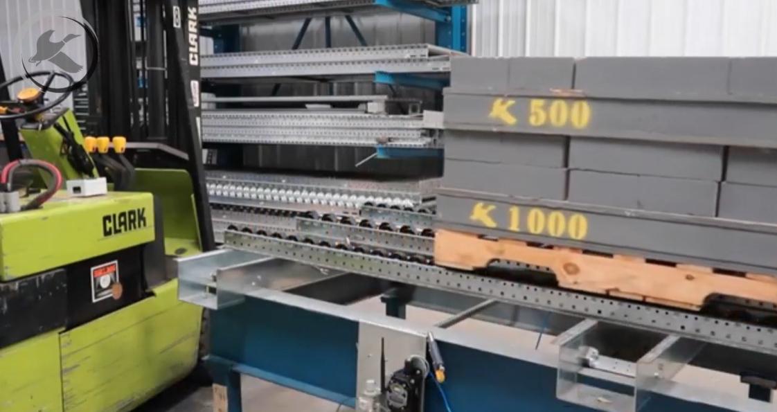 Ergo Cell Pallet Separator - Mallard Manufacturing