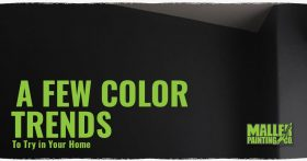 A Few Color Trends To Try IN Your Home