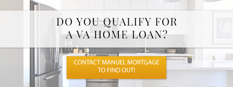Call to action button that asks if you qualify for a VA home loan.