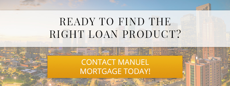 Call to action for a loan product.
