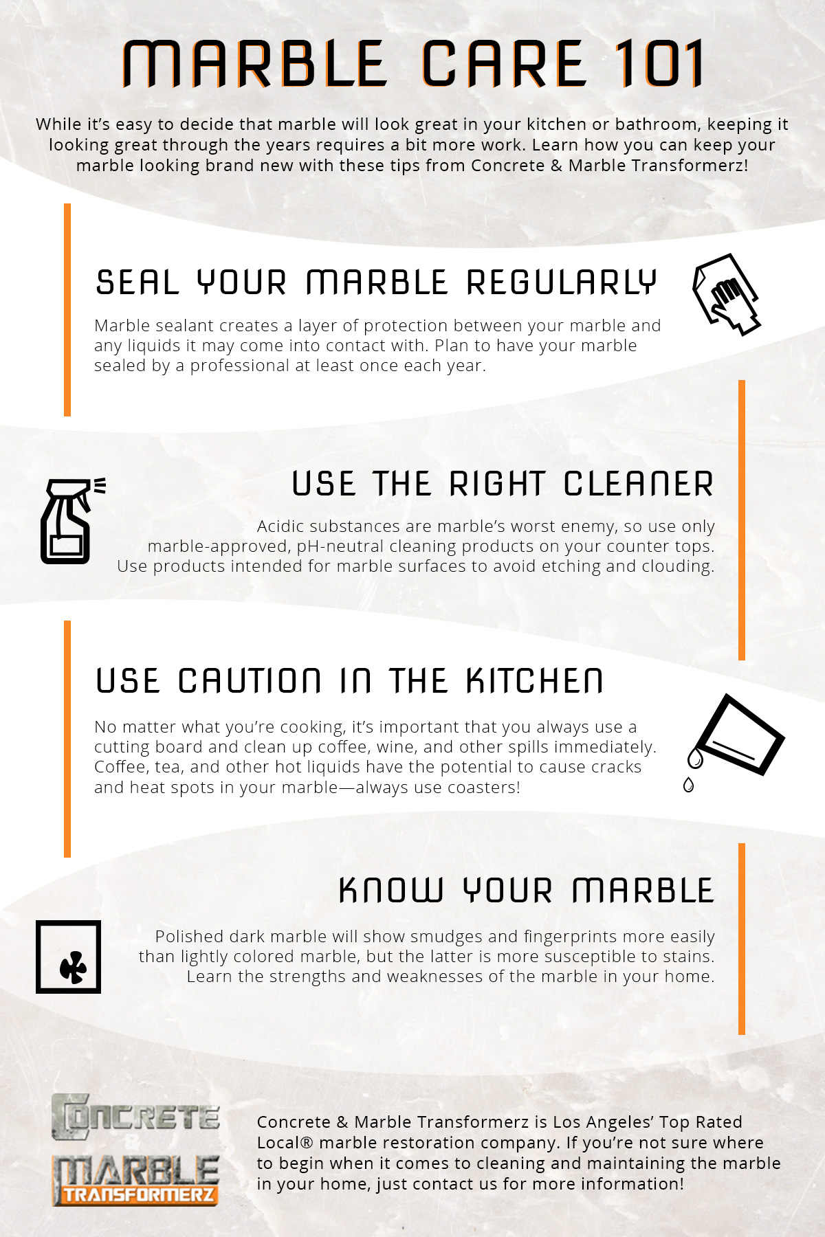 Marble Countertop Care 101