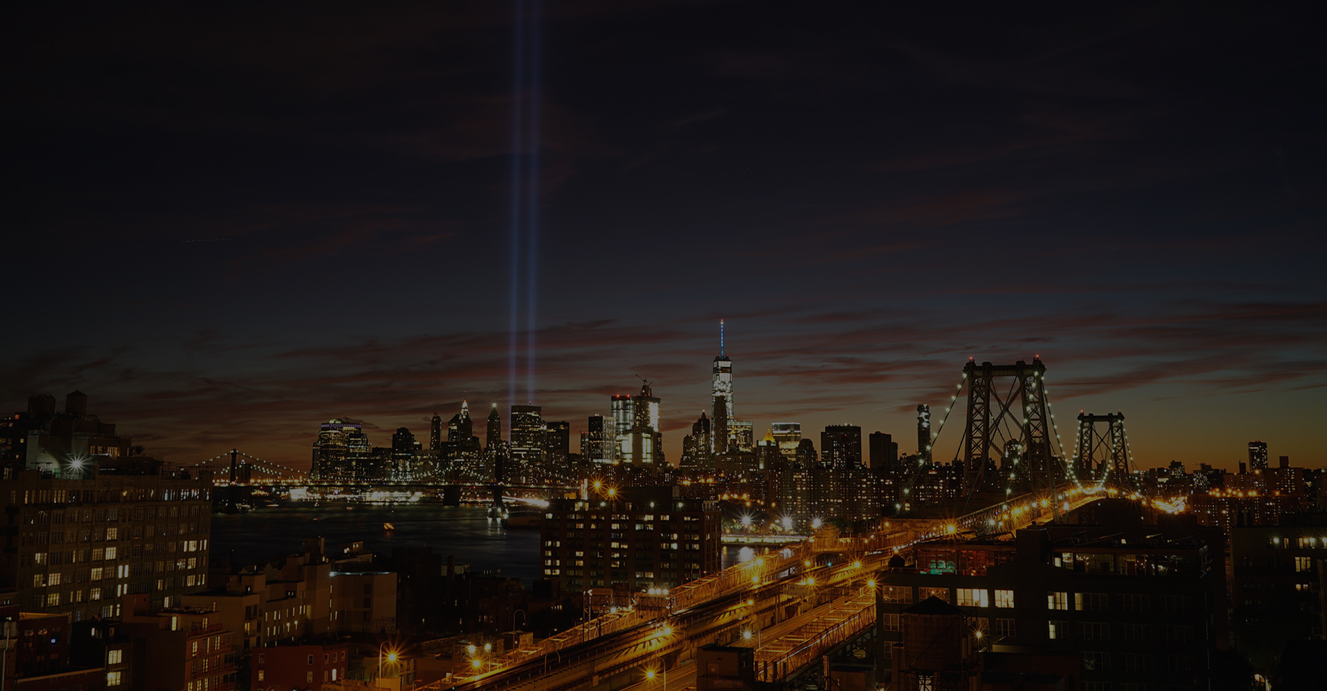 featured image - new york at night