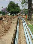Cable Trenching in Orange County