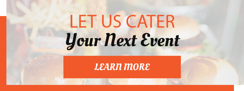 Let us cater your event