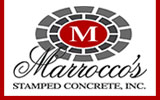 Marrocco's Stamped Concrete for decorative concrete.