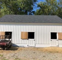 View of an outbuilding from the custom builders of Masterworks Contracting in Metro Detroit