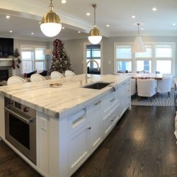 Dream kitchen crafted by the construction specialists at Masterworks Contracting in Metro Detroit
