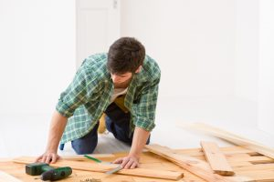 Let us clean your home after your construction project!