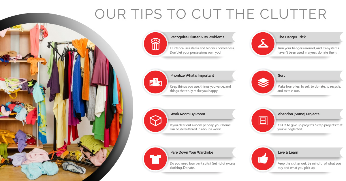 Clutter Cutting Tips - Your Maid's Blog