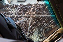 broken windsheild