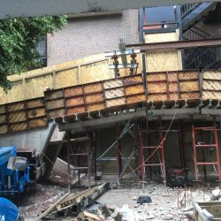 Demolish and replace 4 bridges, replace stair support