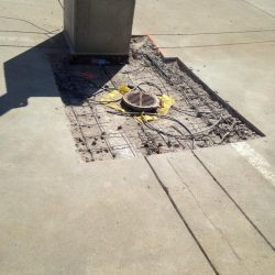 Concrete repair, waterproofing, caulking,