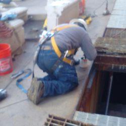 vault repairs, grate and beam replacement