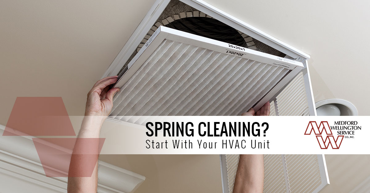 Medford Spring Cleaning HVAC