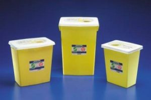 biohazard disposal containers