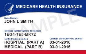 Medicare Health Insurance Card for John Smith