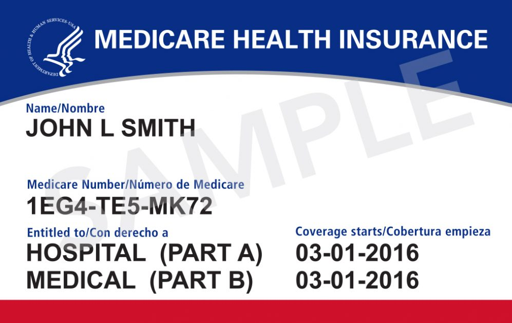 Medicare Health Insurance Card for John Smith