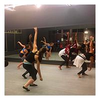 Circle image of a Mercury dance class