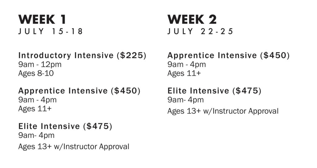 Weeks 1 and 2