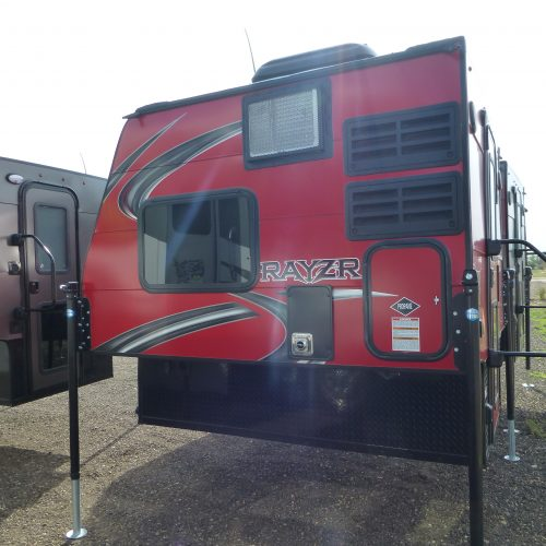 2019 Travel Lite Truck Camper RAYZR FB $9,998 **UNDER CONTRACT