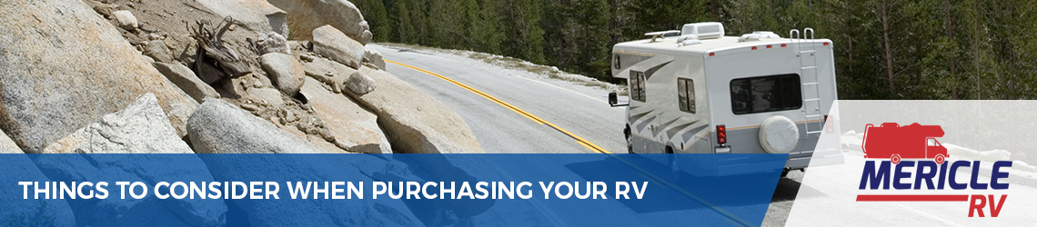 Things to Consider When Purchasing Your Recreational Vehicle