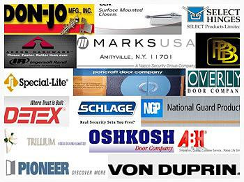 Commercial Doors & Hardware Brands