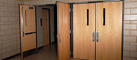 Commercial Wood Door Installation