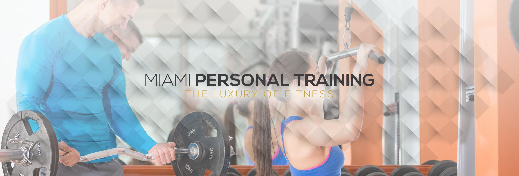Luxury fitness training programs designed just for you!