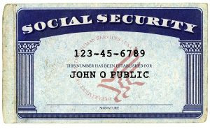Some Things To Know About Social Security Numbers