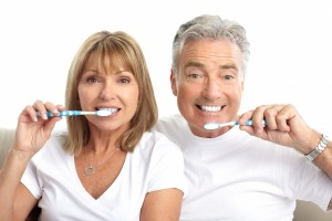 Your family dentist might find you're brushing too hard.