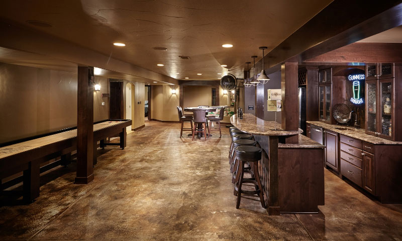 Amazing Examples Of Our Basement Flooring Systems Design Ideas