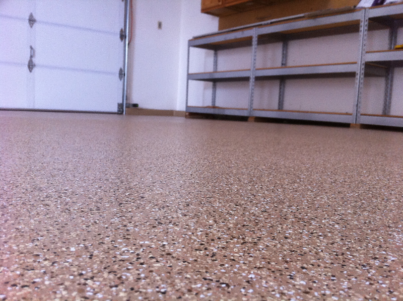 Mile high coatings epoxy garage floors co best for Concrete floor covering