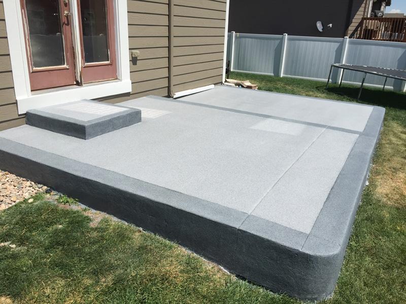 Patio U0026 Walkway Solutions U0026 Concrete Coatings Epoxy And Polyaspartic  Coatings With Quartz
