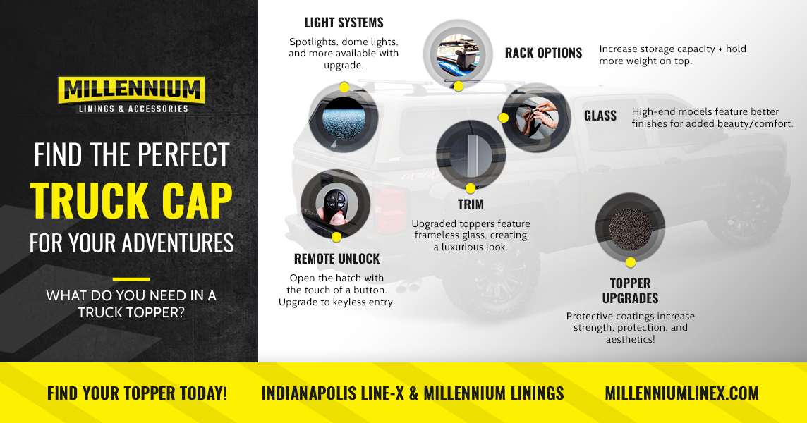 Infographic: Find the Perfect Truck Cap for Your Adventures