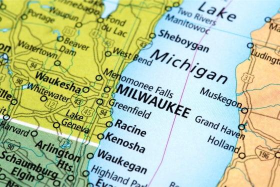 Map of Car Locksmith Milwaukee Service Area
