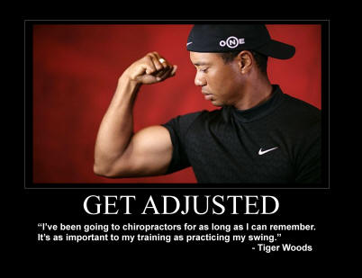 「tiger woods and chiropractic」の画像検索結果