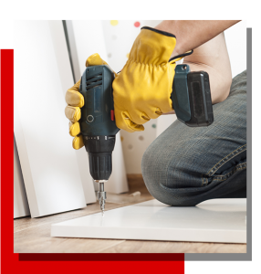 Image of a homeowner restoring a property for rental