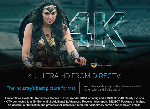 4K Ultra HD from DIRECTV