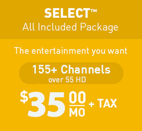 Select TV Packages