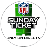 Sunday NFL Ticket only on DIRECTV