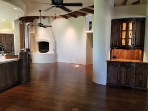 new hardwood floors in mesa home