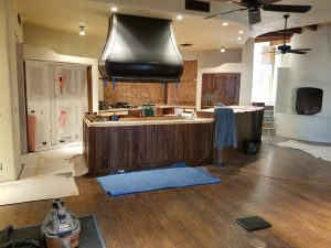 new hardwood floors in Cave Creek kitchen