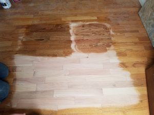 hardwood floor resealing and refinishing in chandler