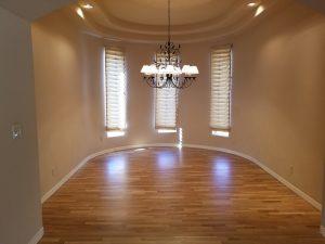 New hardwood floor installation in Chandler