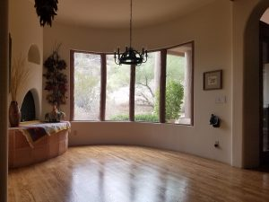 New Hardwood Floor Installation in Ahwatukee