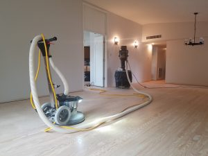 Hardwood floor installation in Chandler