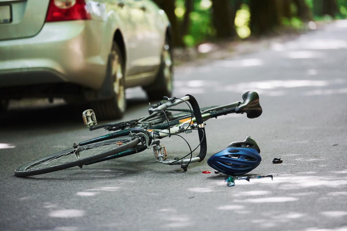 bicycle crash post